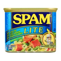 Spam Lite, 12 Ounce Can lunch meat with less calories fat and sodium