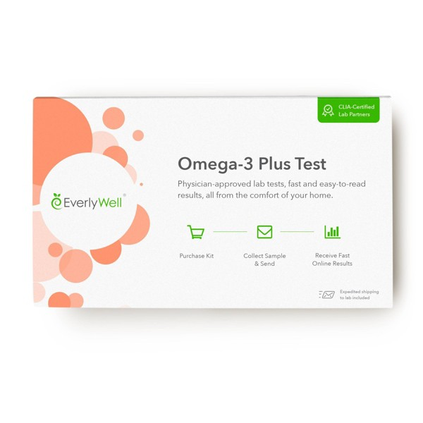 EverlyWell Omega-3 Plus Test - Lab Fee Included