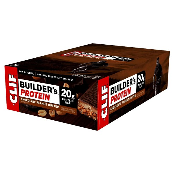 Clif Builder's Protein Bar - Chocolate Peanut Butter - 12ct