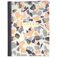 Top Flight #4511 Terrazzo Design Soft Touch Journal