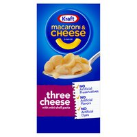 Kraft Three Cheese Macaroni & Cheese