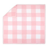 Farmhouse Check Blanket by The Peanutshell Pink