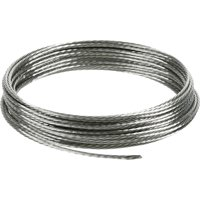 Hillman Stainless Steel Picture Hanging Wire 9ft 100lb