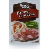 Great Value Gravy Mix, Brown, 0.87 Oz