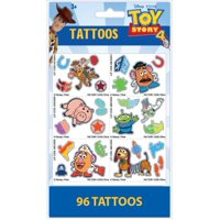 Disney Toy Story 4 Foil Tattoos, 24 Count Tear and Share