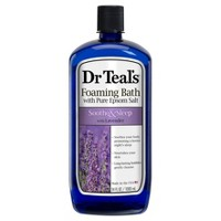 Dr Teal's Pure Epsom Salt Soothe & Sleep Lavender Foaming Bath - 34 fl oz