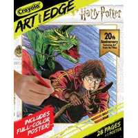 Crayola Art with Edge Coloring Book-Harry Potter 20Th Anniversary