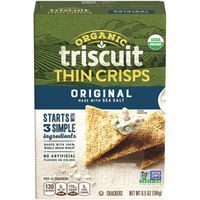 Nabisco Triscuit Organic Original Thin Crisps Crackers