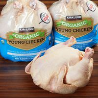Kirkland Signature Organic Whole Young Chicken
