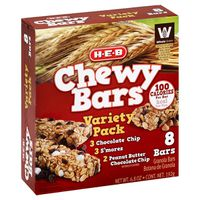 H-E-B Chewy Bars Variety Pack