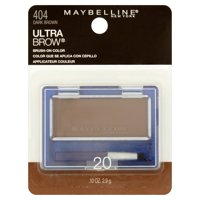 Maybelline New York Ultra Brow Brush-On Color, 0.10 oz