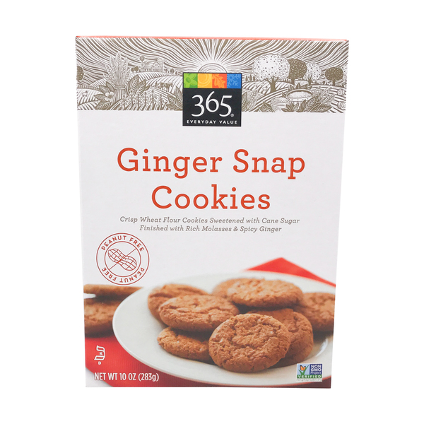 365 everyday value® Ginger Snap Cookies, 10 oz