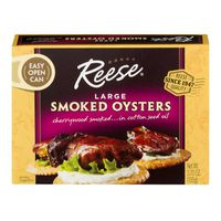 Reese Smoked Oysters Large