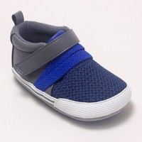 Baby Boys' Ro+Me by Robeez Jake Athletic Shoes - Gray 12-18M