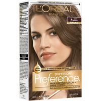 L'Oreal Paris Superior Preference Fade-Defying Color + Shine System 6 Light Brown