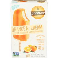 Good Pop Frozen Pops, Orange N' Cream