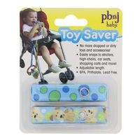 PBnJ Baby Assorted Colors Adjustable Length Toy Saver