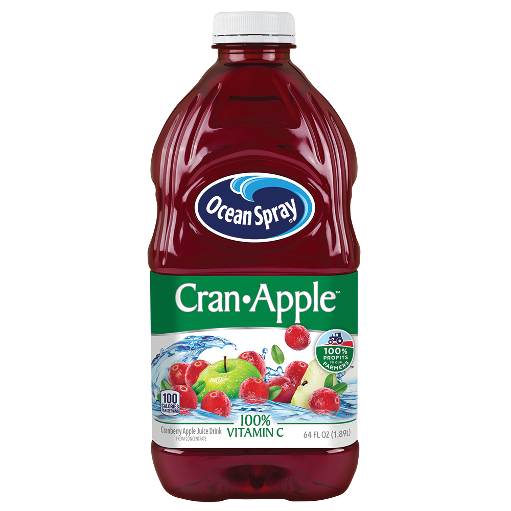 Ocean Spray Cran- Apple Juice Drink, 64 Fl. Oz.
