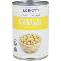 Made With. Garbanzo Beans, Organic