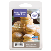 Vanilla Cookie Crunch Scented Wax Melts, Better Homes & Gardens, 5 oz