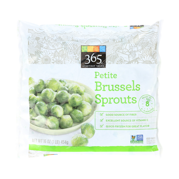 365 everyday value® Petite Frozen Brussels Sprouts, 16 oz