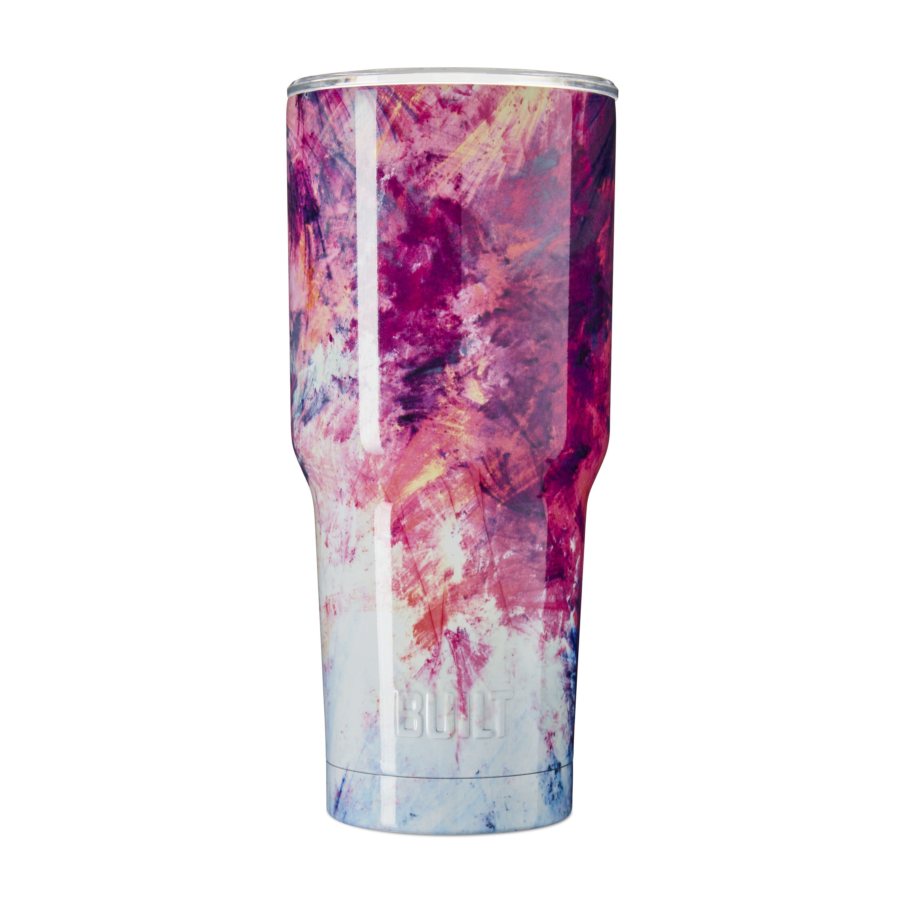 Built 30- ounce Double Wall Stainless Steel Tumbler, Sunset Sky