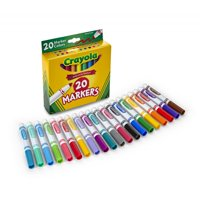 Crayola 20 Count Broad Line Classic Markers- Perfect For Back To School