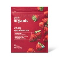 Organic Frozen Strawberries - 32oz - Good & Gather™