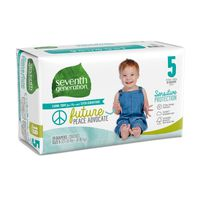 Seventh Generation Diapers, Size 5 (27-35 lbs)