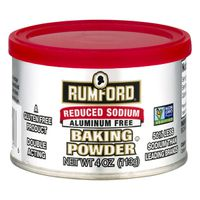 Rumford Baking Powder, Reduced Sodium, Can
