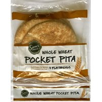 Sam's Choice Whole Wheat Pocket Pita, 4 ct, 9 oz
