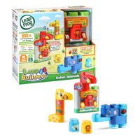 LeapFrog LeapBuilders Safari Animals With Electronic Smart Star Cube