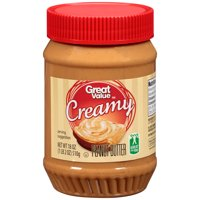 Great Value Smooth Peanut Butter 18 ounces