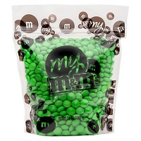 M&M's Light Green Chocolate Candies - 2lb