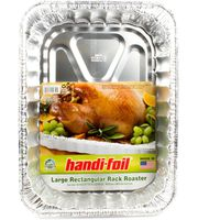 Handi-Foil Eco-Foil Large Rectangular Rack Roaster