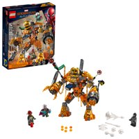 LEGO Marvel Spider-Man Far From Home: Molten Man Battle 76128 Superhero Building Toy for Kids (294 pieces)