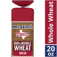 Mrs Baird's 100% Whole Wheat Bread, 20 oz