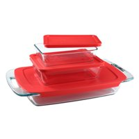 Pyrex Easy Grab Bake & Store 6-piece Value Pack