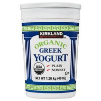 Kirkland Signature Organic Greek Yogurt, 48 oz