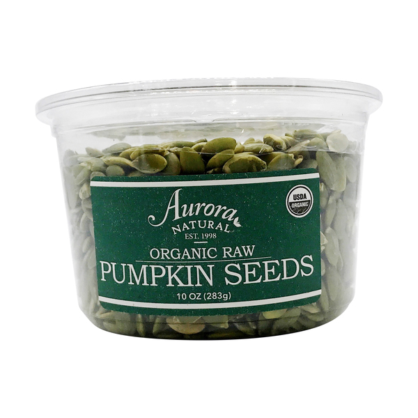 Aurora natural Organic Raw Pumpkin Seeds, 10 oz
