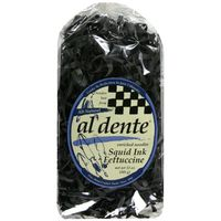 Al Dente Fettuccine Noodles, Squid Ink