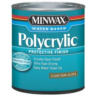 Minwax Polycrylic Clear Semi-Gloss 1-Qt