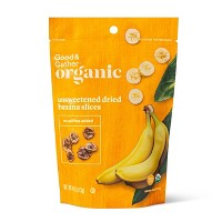 Organic Dried Unsweetened Banana Slices - 4oz - Good & Gather™