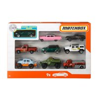 Matchbox 9 Car Collector Gift Pack (Styles May Vary)