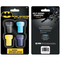 Batman Stamp, 4 Count