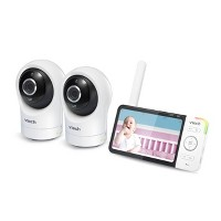 """VTech Digital Video Monitor with Remote Access and 2 Cameras 5""""- RM5764-2HD"""