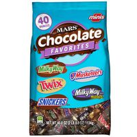 Mars Chocolate Minis Size Chocolate Candy Bars Variety Mix