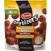 Tyson Any'tizers Honey BBQ Flavored Boneless Chicken Wyngz - 24oz
