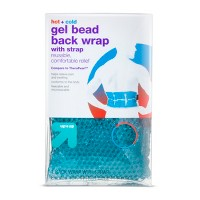 Hot+Cold Gel Bead Back Wrap with Strap - Up&Up™