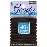 Goody Ouchless Matches Brunette Hair 15 Pcs